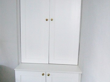 Shaker Style Alcove Cupboard