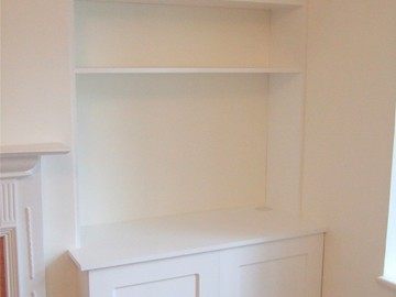 Shaker Style with Custom Storage