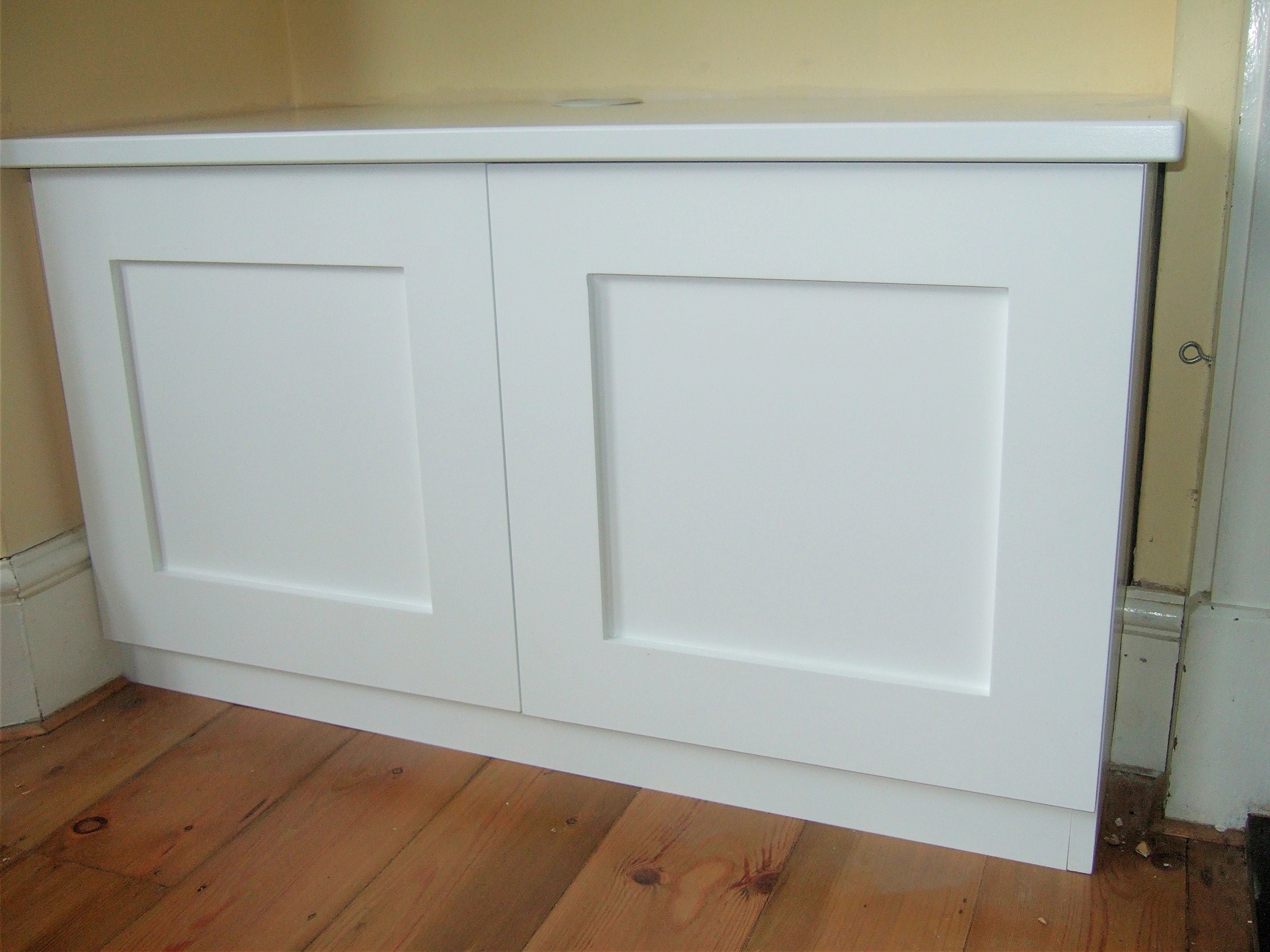 Shaker Style with Flush Panel
